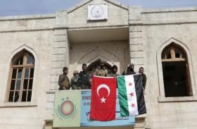 فصائل سورية موالية لأنقرة تمشط مدينة عفرين