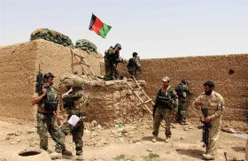 القوات الأفغانية تستعيد قرية شهدت مجزرة