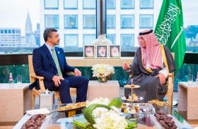 عبدالله بن زايد يلتقي وزير الخارجية السعودي في نيويورك