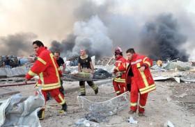 انفجاران يهزان بيروت ويخلفان مئات القتلى والجرحى