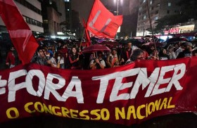 تظاهرات للمطالبة باستقالة الرئيس تامر في البرازيل
