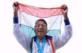 مسنة تفوز في بطولة دولية للركض