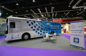 شركة «مصدر» تكشف عن «الحافلة المستدامة» تعمل بالكهرباء كلياً