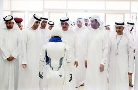 سعود بن راشد المعلا يفتتح فعاليات شهر الابتكار في أم القيوين