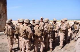 اكتمال الإستعدادات لإقامة التمرين العسكري المشترك تعزيزا للعلاقات الاماراتية الامريكية