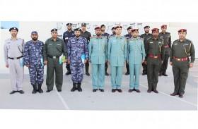 114 منتسبا ينجزون  دورات بمعهد تدريب شرطة رأس الخيمة