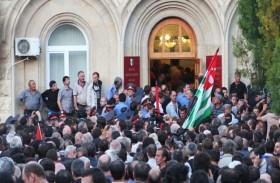 أبخازيا الانفصالية تنتخب رئيساً جديداً
