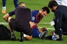 برشلونة عن إصابة ميسي: لا مشكلة