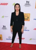 إيفا لونجوريا خلال حضورها حفل توزيع جوائز Farmworker Justice في لوس أنجلوس، كاليفورنيا. ا ف ب