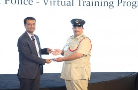 شرطة دبي تفوز بجائزة  السلامة العامة الذكية