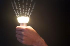 مصابيح تنقل الإنترنت بسرعة كبيرة