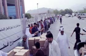 مؤسسة خليفة الإنسانية تكمل استعداداتها لتنفيذ مشروع إفطار صائم