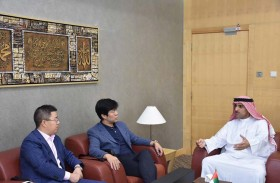وفد صيني يبحث مجالات التعاون مع «اكسبو الشارقة»
