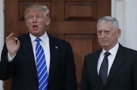 ترامب يلمح إلى احتمال استقالة ماتيس