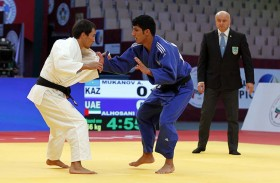 منتخبنا الوطني الأول للجودو  يستأنف تدريباته بصالة الاتحاد الرئيسية في أبو ظبي