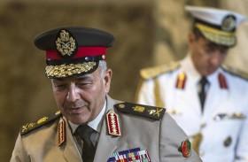 رئيس الأركان المصري يلتقى غسان سلامة المبعوث الدولي إلى ليبيا