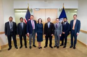 وفد الإمارات للطاقة النووية يلتقي مسؤولين أمريكيين في واشنطن