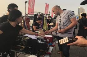 انطلاق الموسم الثاني من فعالية «سوق البيع من صندوق السيارة» على كورنيش عجمان