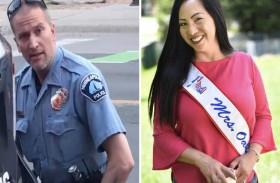 زوجة الشرطي المتهم بقتل فلويد تطلب الطلاق