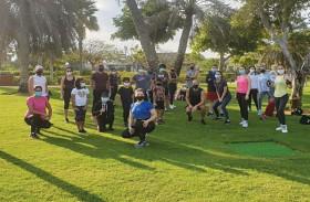 حديقة أم الإمارات تستضيف سلسلة من حصص اللياقة ضمن حملة أبطال شركة ضمان FIT FOR FEB