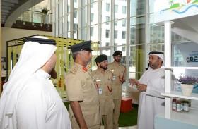 شرطة دبي تستضيف حملة «لنجعل هذا الصيف أخضر»