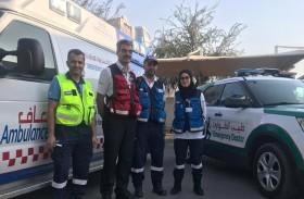 «إسعاف دبي» تعاملت مع 3554 حالة خلال إجازة عيد الفطر