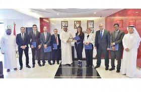 """""""دبي لتنمية الاستثمار"""" تستقبل وفد الهيئة المصرية العامة للاستثمار والمناطق الحرة"""