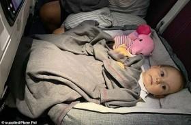 حيلة ذكية لنوم طفلك أثناء السفر