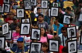 العثور على عظمة لأحد الطلاب الـ43 المفقودين