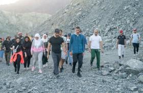 التغير المناخي والبيئة تنظم مخيم السياحة البيئية للشباب في كلباء