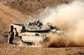 غارات إسرائيلية على مواقع عسكرية في ريف دمشق