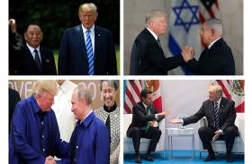العالم حسب السوبر بلدوزر دونالد ترامب...!