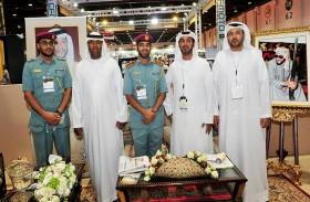ختام مميز لجناح نادي تراث الإمارات في معرض الصيد والفروسية