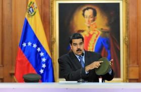 """مادورو يقبل تحقيق """"اف بي آي"""" بمحاولة اغتياله"""