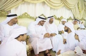 محمد بن زايد: شهداءنا أضافوا للوطن عزاً ومجداً وسيضيئون بتضحياتهم مستقبله