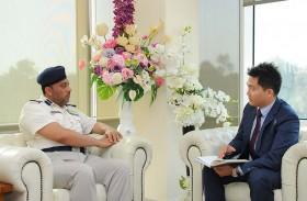 شرطة أبوظبي والداخلية الكورية تبحثان التعاون في التدريب