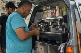 باعة قهوة سوريون يدافعون عن مصدر رزقهم في القاهرة