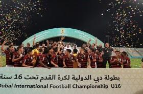 مجلس دبي الرياضي يتوج فلامنغو بلقب دولية دبي