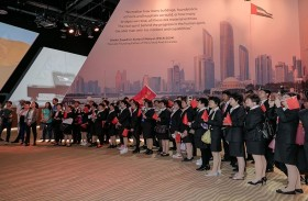 جناح دولة الإمارات في إكسبو  2017 أستانا يستقطب اهتماماً واسعاً من الزوار