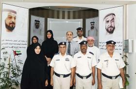 تكريم 8 موظفين في قطاع الأمن الجنائي بشرطة أبوظبي