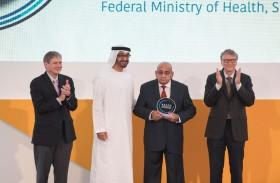 ولي عهد أبوظبي: رسالتنا أننا متحدون لجعل الأمراض المعدية من الماضي
