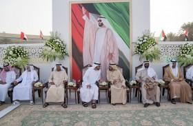 محمد بن راشد ومحمد بن زايد يحضران حفل زفاف نجل جمعة بن أحمد البواردي الفلاسي