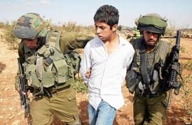 300 طفل فلسطيني معتقل في سجون إسرائيل