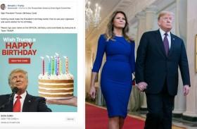 ترامب: حوالي مليون دولار من أجل «عيد سعيد»...