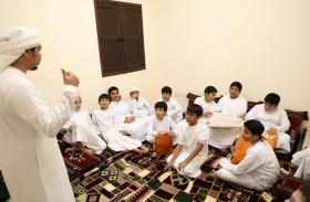بلدية الحمرية تنظم فعاليات وأنشطة تراثية لمرتادي المجلس الرمضاني من الأطفال بالتعاون مع دائرة الخدمات الاجتماعية فرع الحمرية