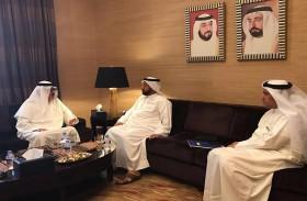 غرفة الشارقة تبحث تعزيز التعاون مع اتحاد الغرف العربية
