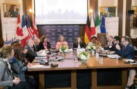 مجموعة السبع موحدة ضد روسيا ومنقسمة بشأن إيران