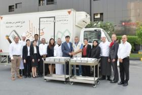 فندق وأجنحة رمادا عجمان يدعم الأعمال الخيرية في يوم الغذاء العالمي