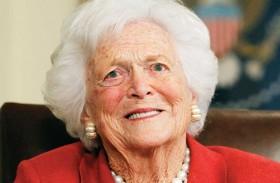 وفاة باربرا بوش عن 92 عاما