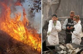 ارتفاع قتلى كارثة حريق كاليفورنيا إلى 42